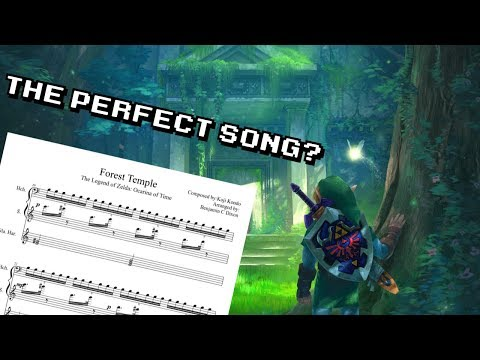 The Forest Temple In Ocarina Of Time Has The Most Perfect Atmospheric Music In A Video Game.