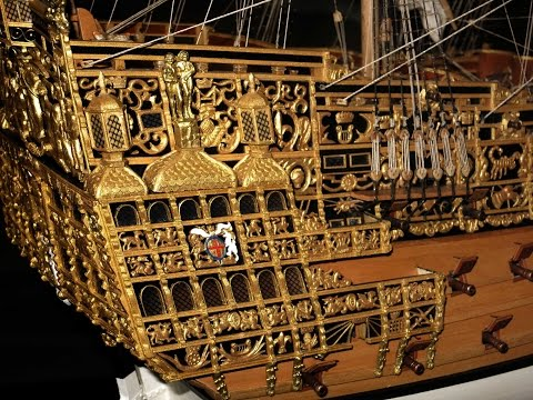 Sovereign of the Seas 1637, Scratchbau