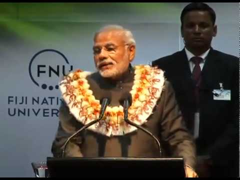 PM Modi's speech at the Interaction with Civil Society at Fiji National University