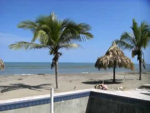 LA CEIBA BEACH CLUB BEACH HOUSE Caribbean construction.MOV