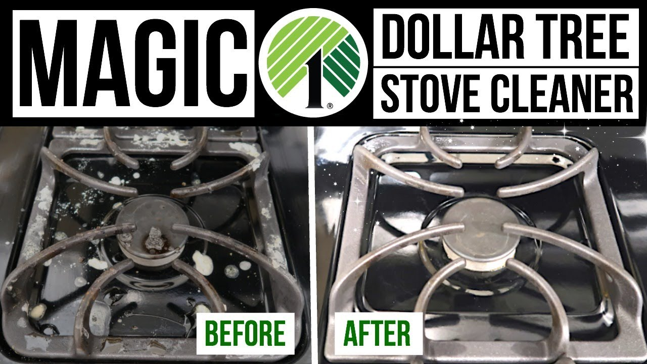Diy Magic Stove Cleaner Dollar Tree Cleaning Hack Husband Takeover