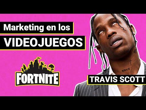 ¿Por qué Travis Scott ha hecho un Concierto en Fortnite? | Marketing en los Videojuegos