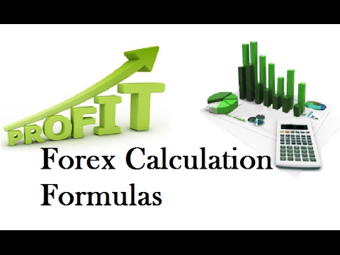 Forex Calculation Formulas