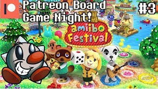 Patreon Board Game Night (3)   Animal Crossing Amiibo Festival