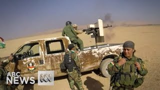 The Battle for Mosul: Iraqi troops trade fire with IS