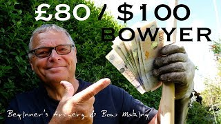 £80/100$ bowyer. Become a Bowyer for less than £80/$100! My Bow Making Tool Kit