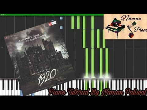 1920 Piano Theme Tutorial+MIDI+Music Sheet