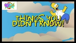 9 Simpsons Facts to Satisfy the Biggest Fans!!