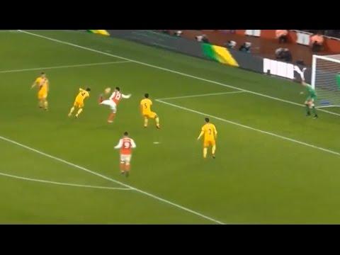Download Olivier Giroud Scorpion Kick Goal - Arsenal VS Crystal Palace