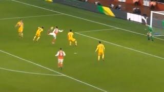 Olivier Giroud Scorpion Goal - Arsenal VS Crystal Palace