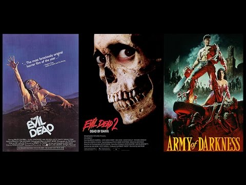 HBTVS Podcast Episode 5: Evil Dead, Evil Dead II, Army of Darkness