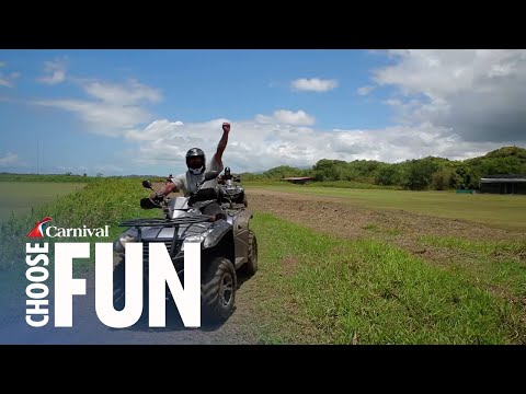 Hacienda ATV Adventure in San Juan, Puerto Rico | Carnival Shore Excursions