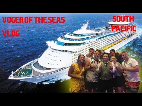 Voyager Of The Seas Royal Caribbean South Pacific Cruise 2018 (Vlog)