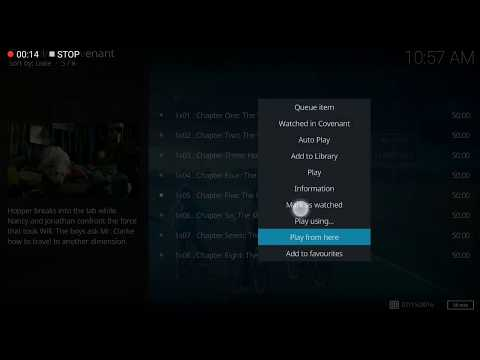 How to cast video from phone to TV via Kodicast
