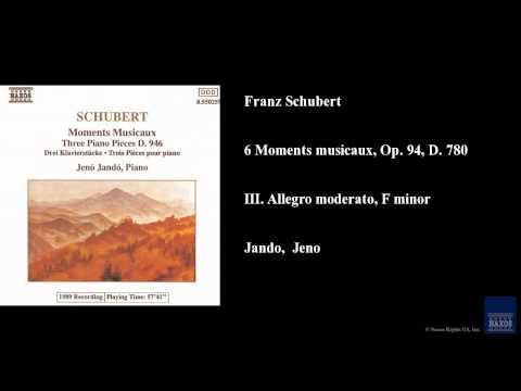 Wilhelm Backhaus Moment Musicale In F-moll - Impromptu In B-dur Op. 142 Nr. 3