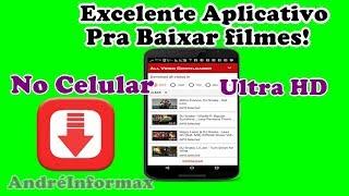 Aplicativo pra Baixar filmes no Celular em HD  assista offline!