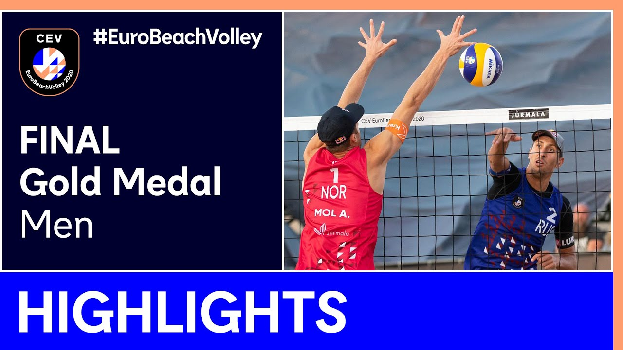 Mol A./Sørum, C. vs Krasilnikov/Stoyanovskiy Gold Medal Highlights - EuroBeachVolley 2020 Men