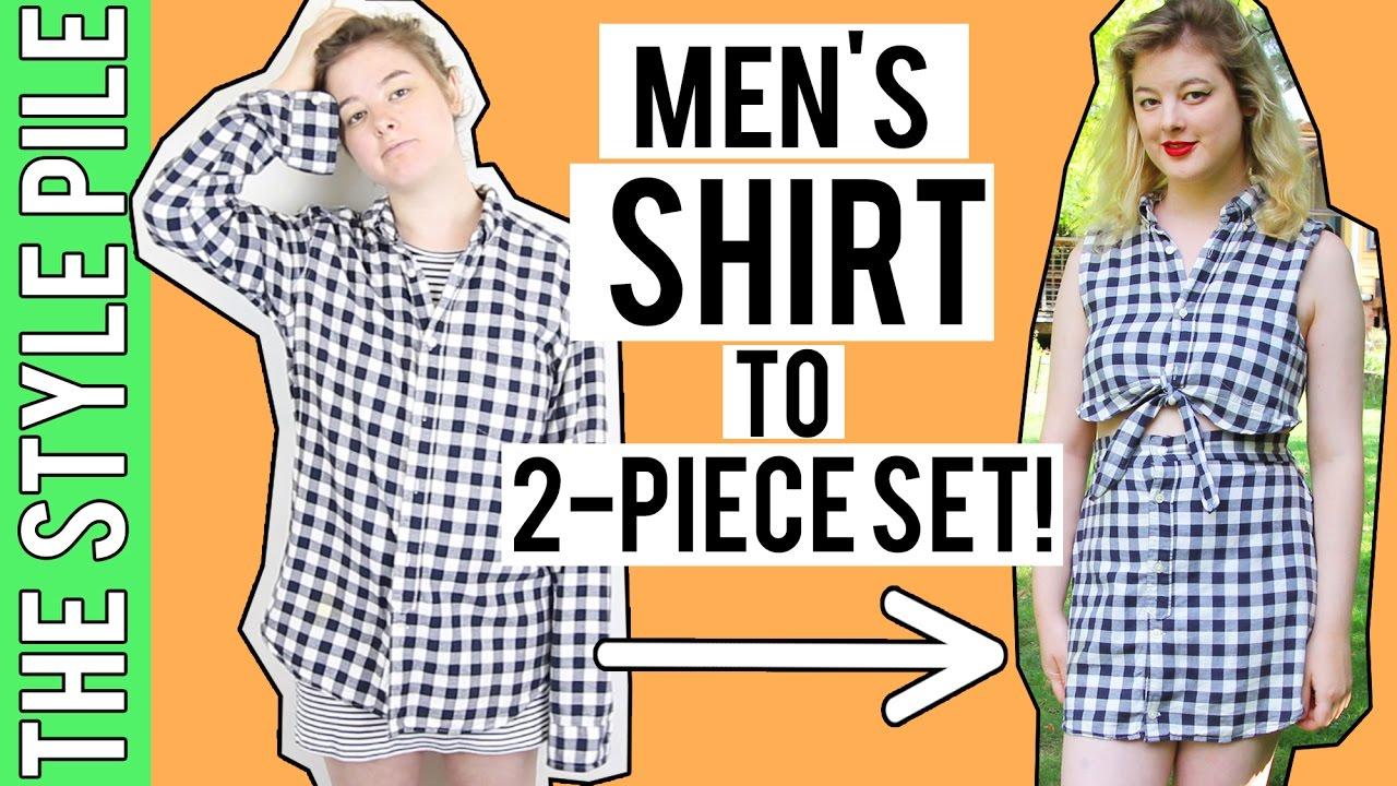 de09f73a2 Shirt to 2-Piece Set UPCYCLE!