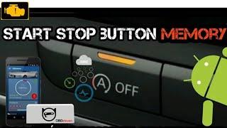 OBDeleven Start Stop Button Memory / Pamięć przycisku Start/Stop AUDI A4 B8 FL obdeleven