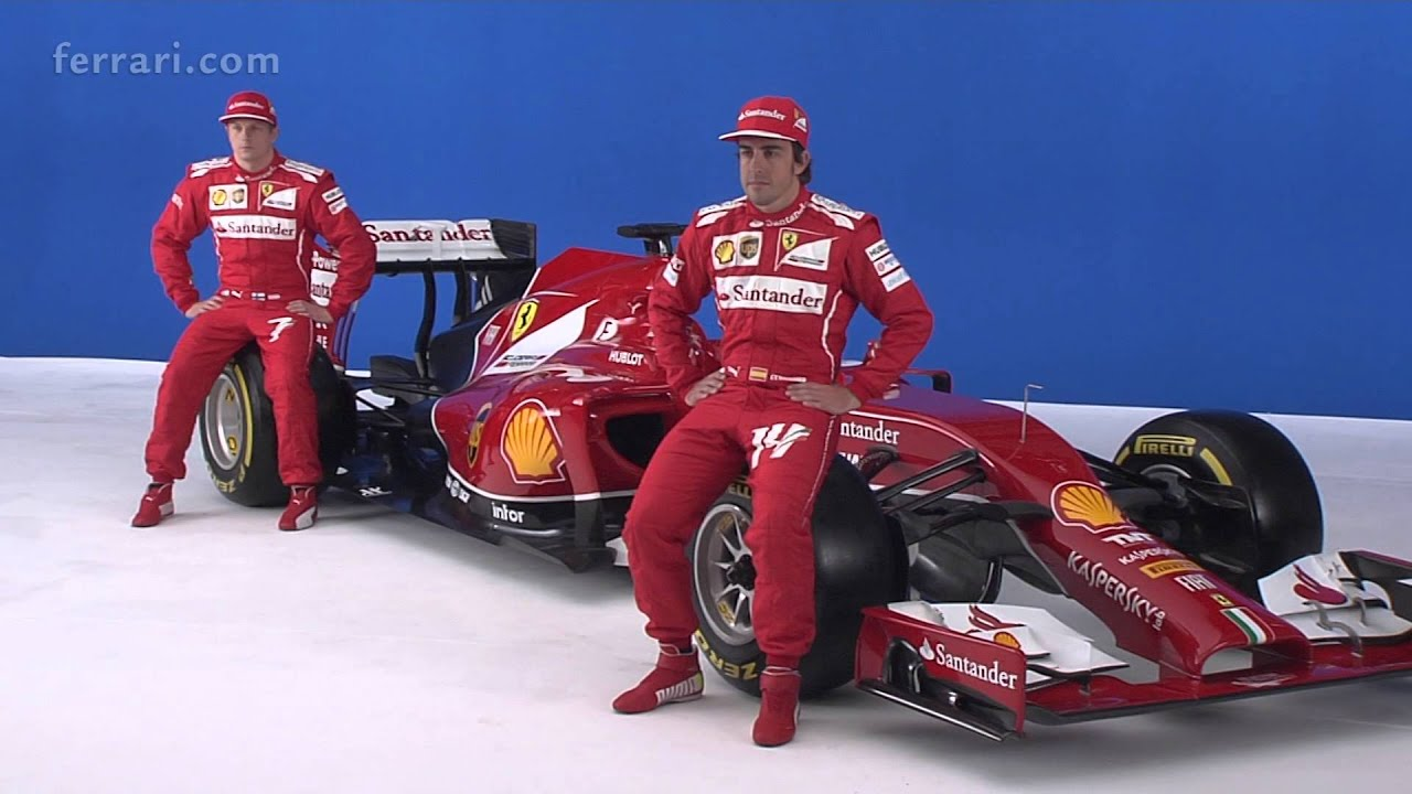 F1 2014 Ferrari F14 T Launch Fernando Alonso Youtube