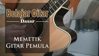 Video Belajar Gitar Dasar - belajar memetik gitar pemula download MP3, 3GP, MP4, WEBM, AVI, FLV Mei 2018