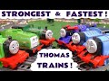 Thomas And Friends Trains Fastest And Strongest Competition Toy Stories