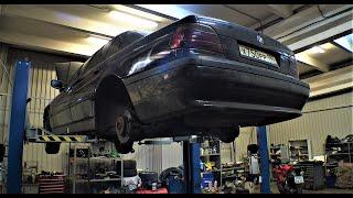 БЭХА СЕМЕРКА BMW E38 смотрим проблемы с низу