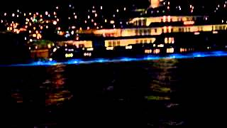MegaYachts in  St.Thomas by night