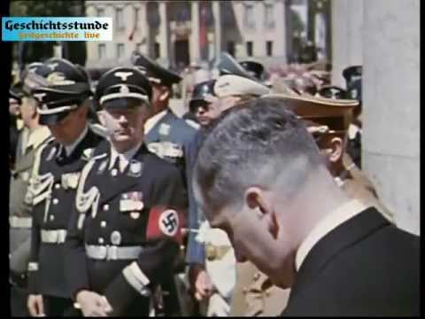 München 1939 (unkommentiert & in Farbe) Zeitgeschichte live