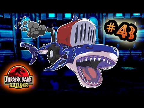 Jurassic Park Builder: MARINE Tournament: Part 43 Shark LawnMower HD