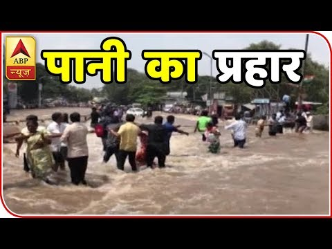 Master Stroke : Mutha Canal Breach Inundates Pune Localities | ABP News