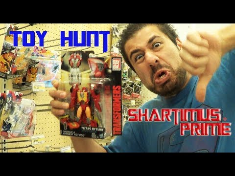 Sacramento Toy Hunt with Shartimus Prime March 2017