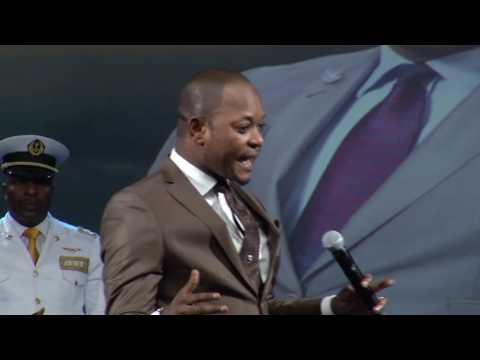 Pastor Alph LUKAU at Rhema Bible Church - Restoration