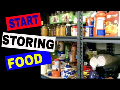 Getting Started on Food Storage: A Working Pantry Saves $$$