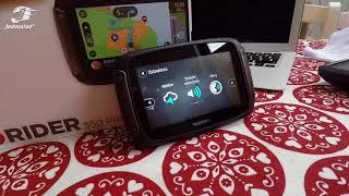 TomTom Rider 550: Jak działa motocyklowa nawigacja GPS? Jak wyznaczać trasę motocyklową?