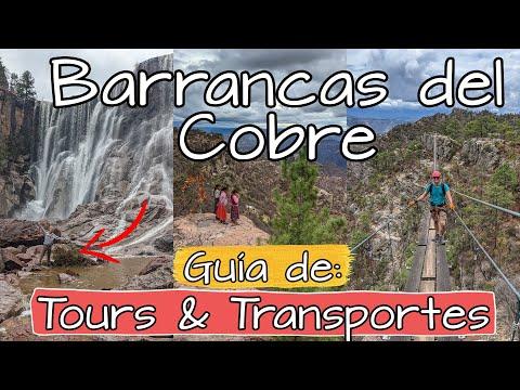 Barrancas del Cobre Chihuahua 😍Guía de Transporte y Tours en Creel Divisadero y Bahuichivo 🚗 ¿Chepe?