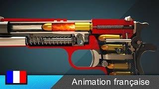Comment fonctionne une arme de poing (Colt 1911) ? (Animation) thumbnail