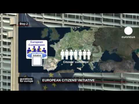 euronews question for europe - European Citizens' Initiative