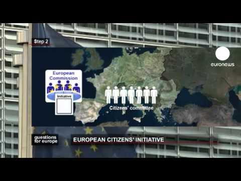 euronews question for europe - European Citizens' Initiative