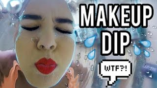 Beauty Busters: Poop or Woop? MAKEUP DIP IN WATER METHOD!