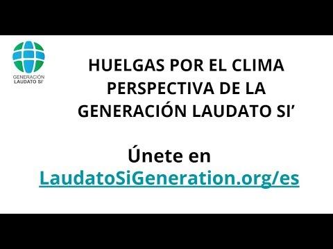 Seminario Online: Huelgas Por El Clima Y La Generación Laudato Si