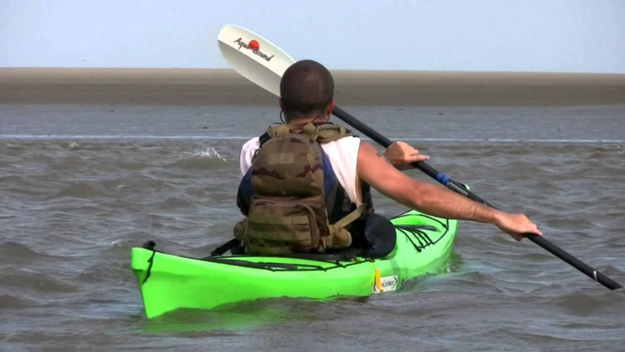 Coastal Kayaking In Charleston Harbor Folly Beach Intercoastal Waterway College Of