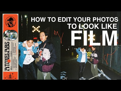 HOW TO EDIT PHOTOS TO LOOK LIKE FILM (AFTERLIGHT)