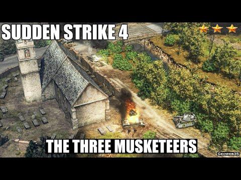 Sudden Strike 4 The Three Musketeers Bonus Mission 01 |