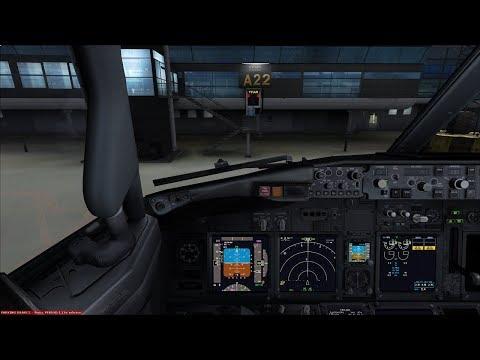 *Virtual Norweigan* PMDG 737NG EI-FHC Copenhagen EKCH to Oslo ENGM *Vatsim* (First flight)