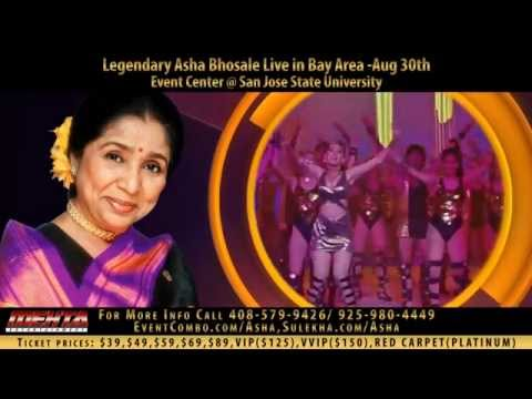 The Living Legend Asha Bhosle & The Most Versatile Talat Aziz Live in Concert Bay Area