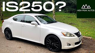 Should You Buy A Used LEXUS IS250? (Quick Test Drive and Review)