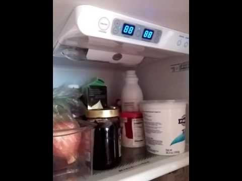 Kitchenaid Fridge Not Cooling Youtube