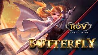 RoV: Butterfly, collect 5 Mega Kill, get a cheap RoV rank pump, no cheating, no banned 100% [EP.2]