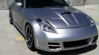 403+HP 350Z - Walk around, Stillen body kit, Vertini Wheels, Koyo Radiator, Spyder HID Headlights